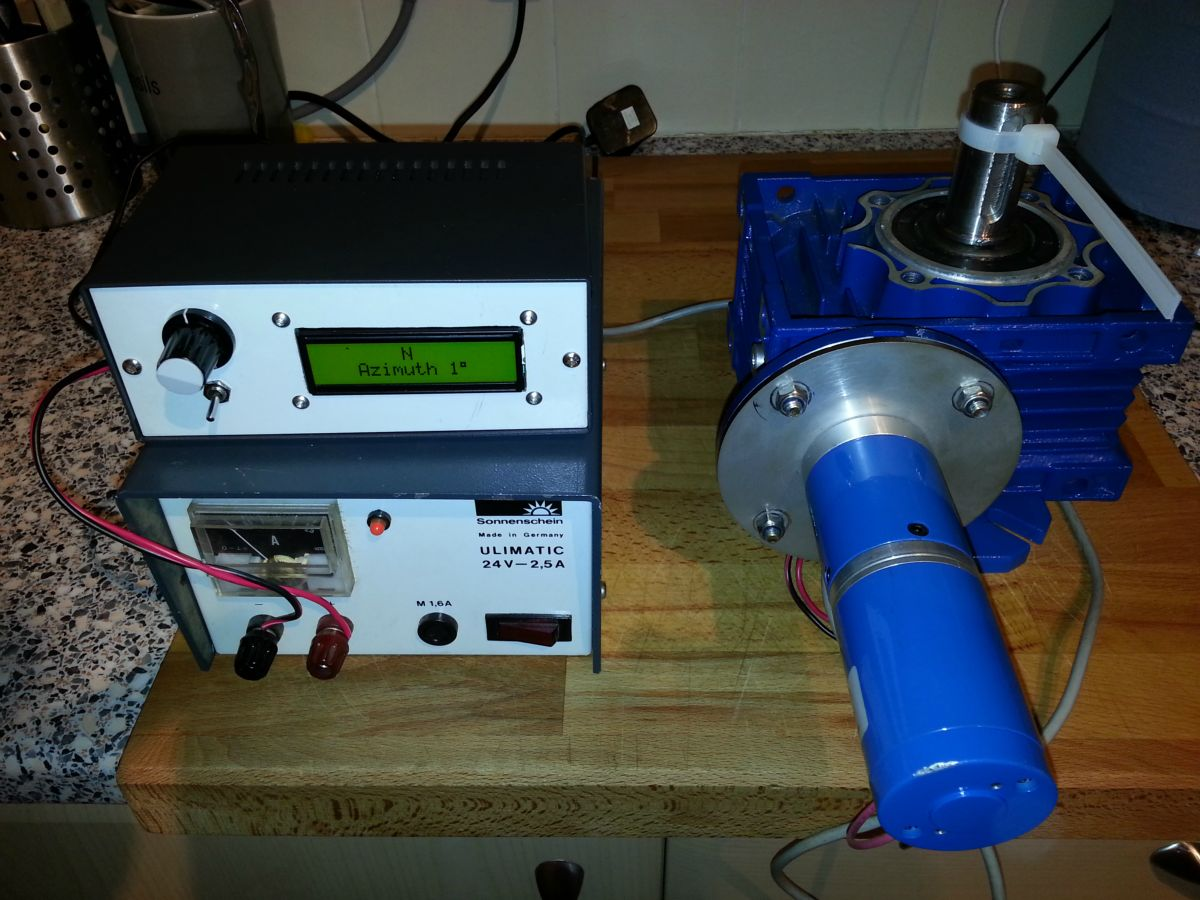 Heavy Duty Rotator Project | M0CKE - Jims Amateur Radio Station